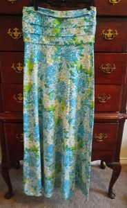 NWOT Lilly Pulitzer strapless maxi dress